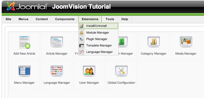 How To Install And Change Joomla Templates Zootemplate