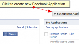 How to create a Facebook Application