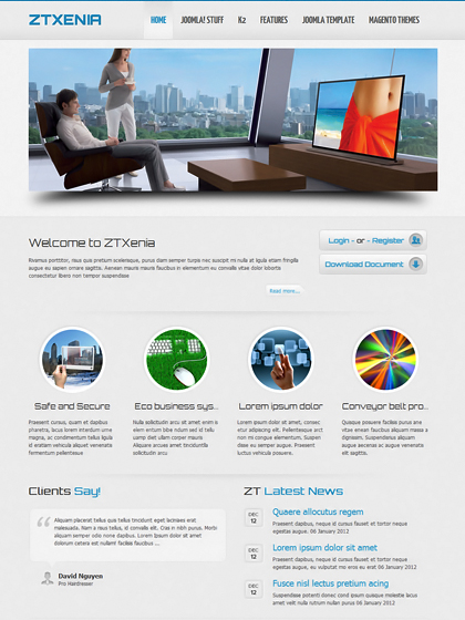 Image Result For Free Seo Friendly Joomla Templates