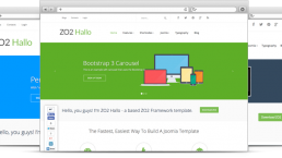Zo2 framework for Joomla 3.x version 1.0 released