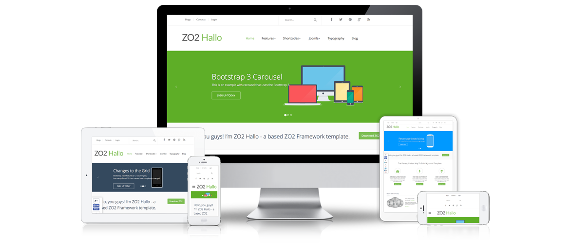 Zo2 Framework For Joomla 3x Version 10 Released Zootemplate