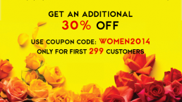 Promotion: A special discount 30% on Vietnam Women's Day