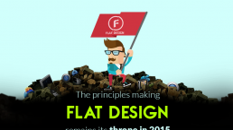 The Principles making Flat Design remain its throne in 2015