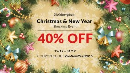 [Xmas & New Year Shocking Event] – Stay warm with our 40% off coupon