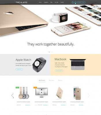 responsive digital virtuemart template