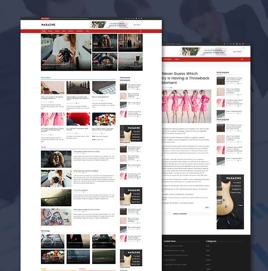 joomla magazine news template