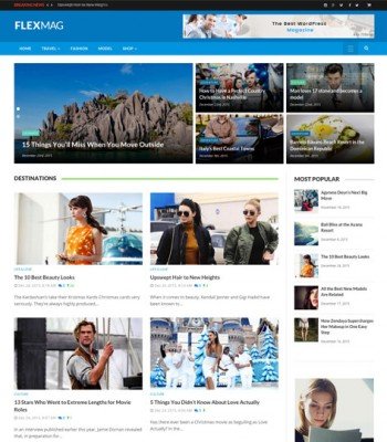 flexmag wordpress magazine themes